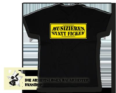 T Shirt Musizieren Smf050101 Klamotten Das Kult